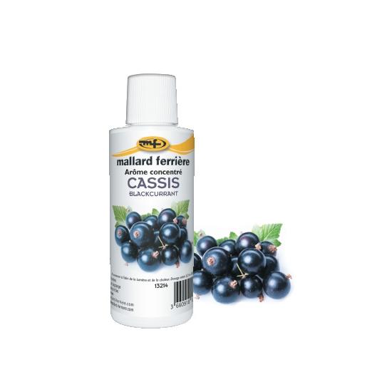 Arômes concentrés : Cassis - 125 ml