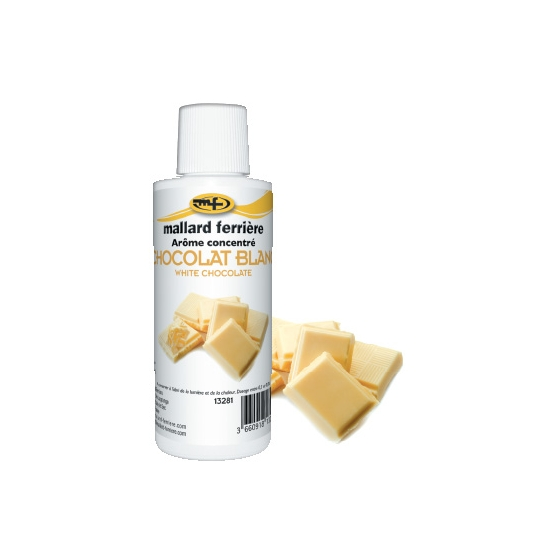 Arômes concentrés : Chocolat Blanc - 125 ml