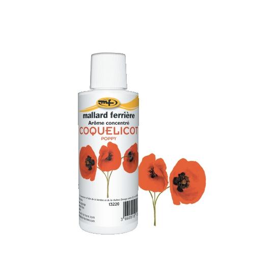Arômes concentrés : Coquelicot - 125 ml