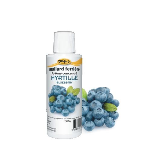 Arômes concentrés : Myrtille  - 125 ml