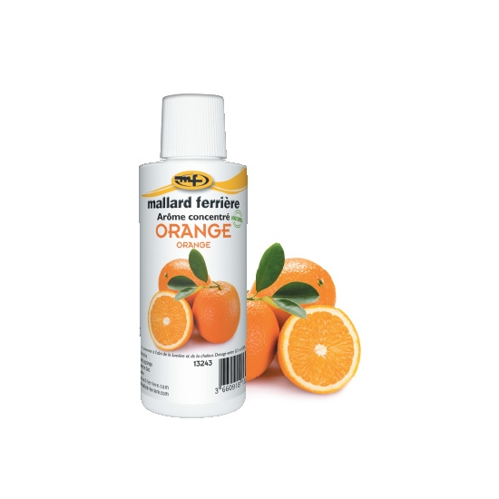Arômes concentrés : Orange - 125 ml