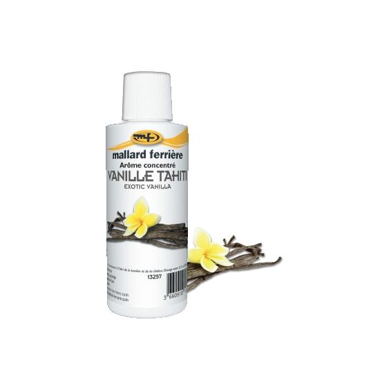 Arômes concentrés : Vanille Tahiti -  125 ml