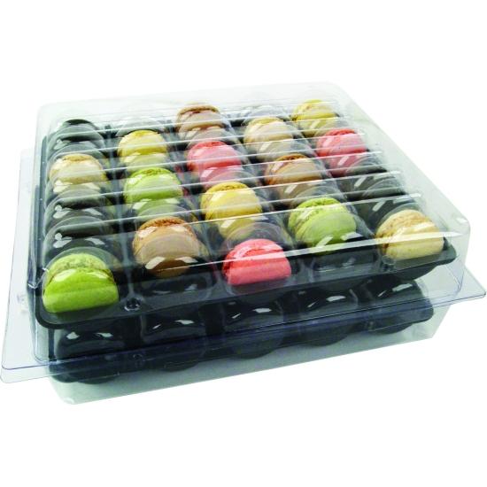 Emballages pour macarons (70 macarons)