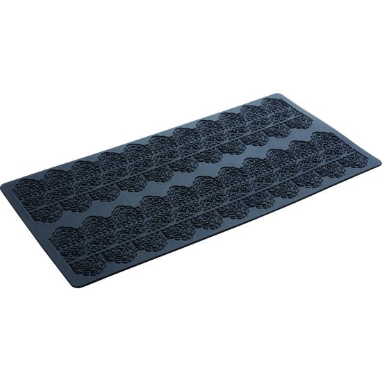 Plaque silicone 40 x 20 cm : Dentelle 3 - Ht 90 mm