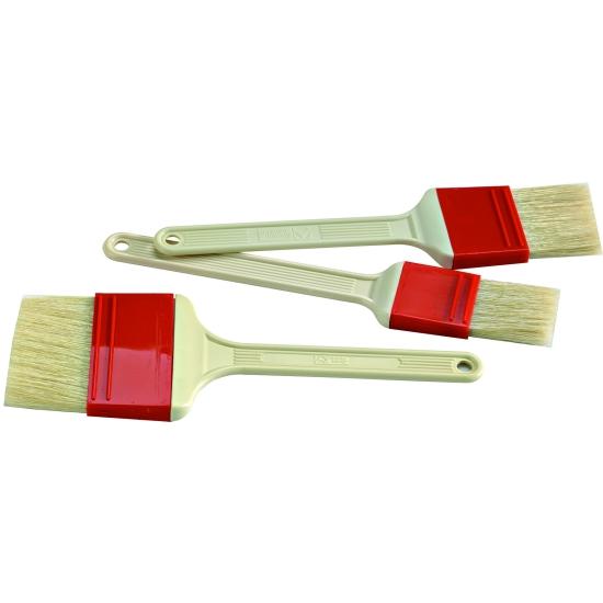 Pinceau pure soie manche plastique