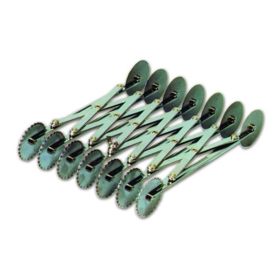 Rouleau multicoupe métal double