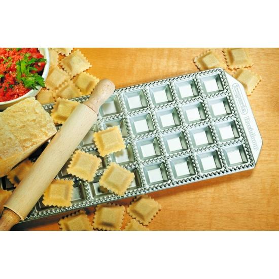 Moule à raviolis aluminium 36 raviolis carrés 35X35mm