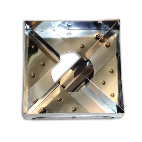 Découpoir inox Moulin à vent - 10*10cm