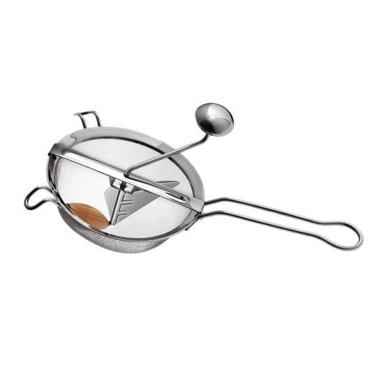 Passoire à groseilles, cassis, soupe de poisson Ø 18 cm inox