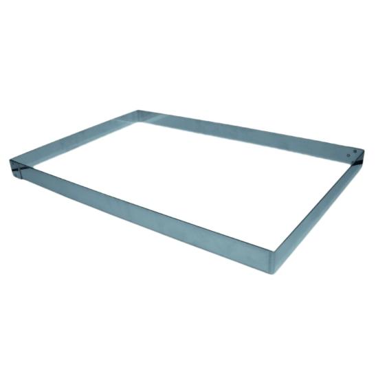 Cadre inox pour plaque 60X40cm