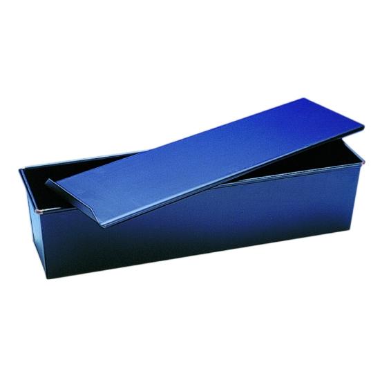 Moule Lunch avec couvercle Tole bleue