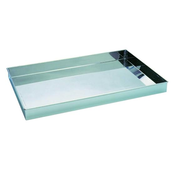 Caisse ou Bac inox étanche pour frigo