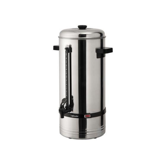 Cafetière acier inox - modèle 15 litres