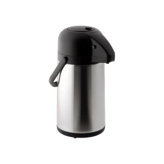 Pichet isotherme inox à pompe 2,5 litres