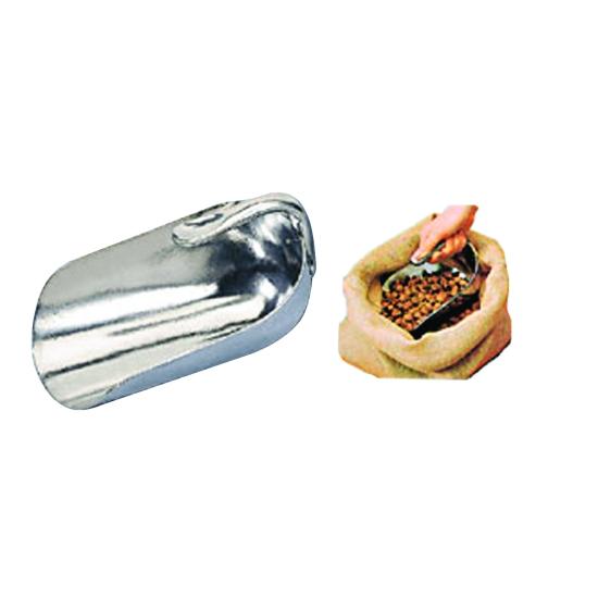Main aluminium poignée retournée de 30cm