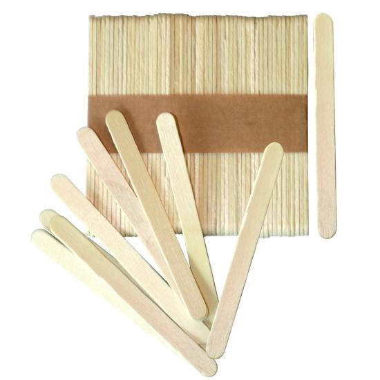 Mini bâtonnets esquimaux bois - 500 unités
