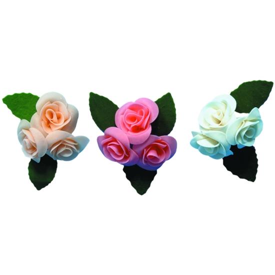 Roses moyennes - boite de 15 unités