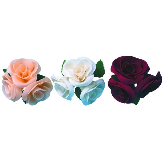Grandes roses - boite de 3 unités