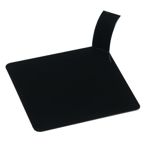 Languette plastique carrée - 8 X 8 cm - 100 unités