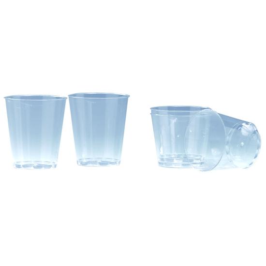 Verre plastique cristal - 40 unités