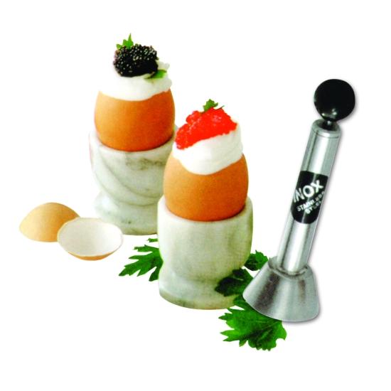 Toqueur à œufs inox