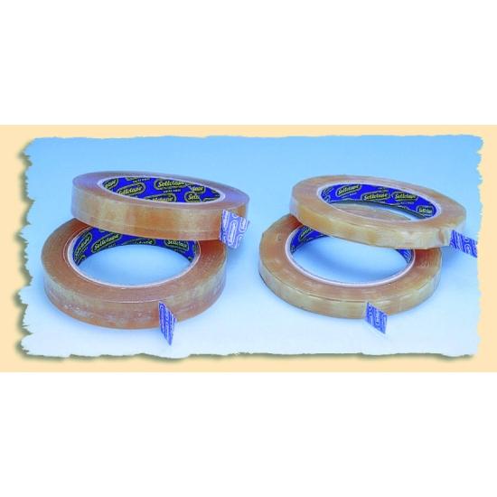 Rouleau adhésif incolore PVC