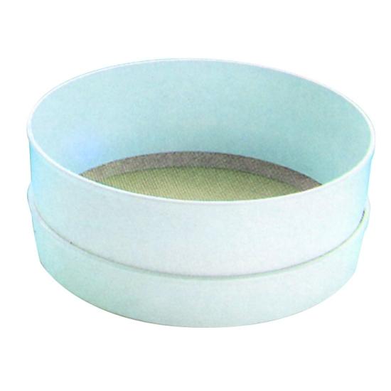 Tamis macrolon toile acier spécial farine