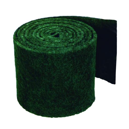 Rouleau abrasif récurant vert