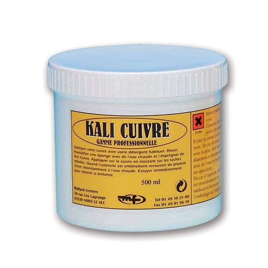 Pâte pour entretien du cuivre Kali cuivre 500 ml