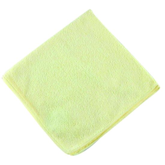 Lavette micro-fibre jaune