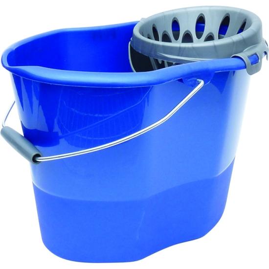 Seau plastique 14 litres bibac