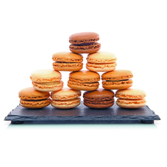 Plaque macarons en silicone (12 empreintes)