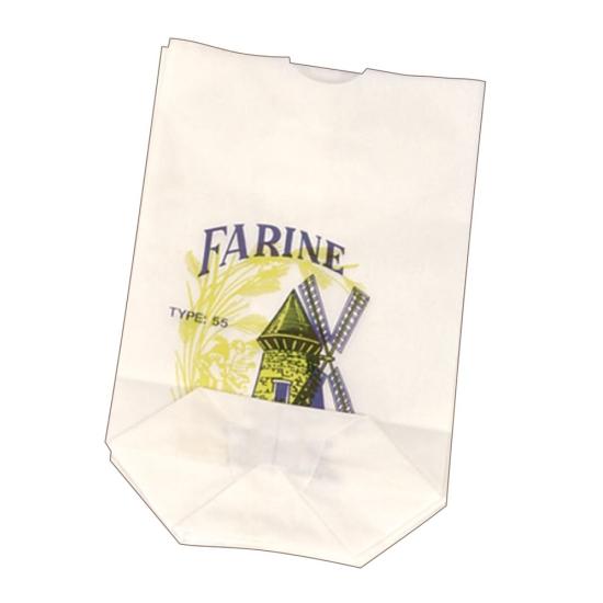 Sac farine sulfite kraft blanc écorné - P/1000
