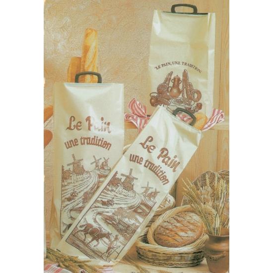 Sac à pain porteur poly - Paquet de 25