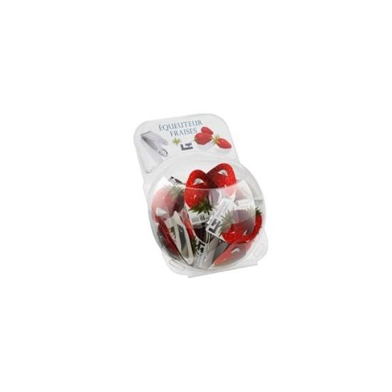 Présentoir de 40 equeuteurs à fraises en Inox Tellier