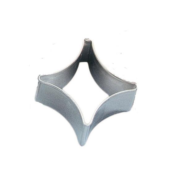 Découpoir uni fer blanc Carreau - hauteur 2.5cm