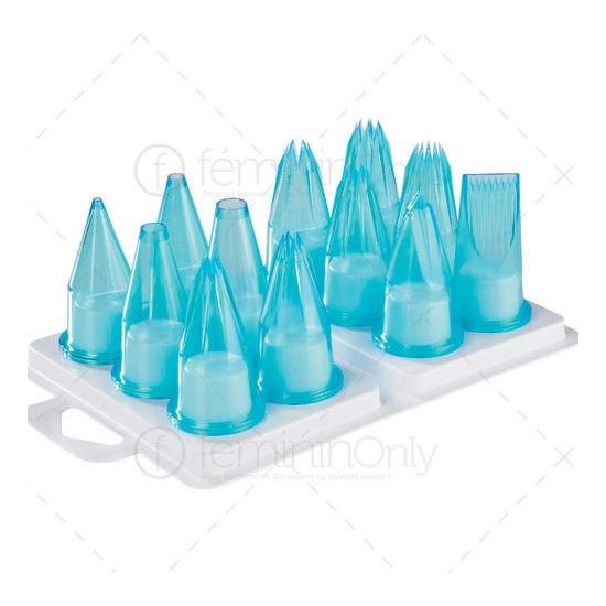 Assortiment Charcutier 12 douilles polycarbonate