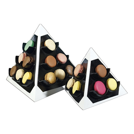 Pyramide à macarons -