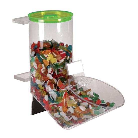 Tube à bonbons plexiglass
