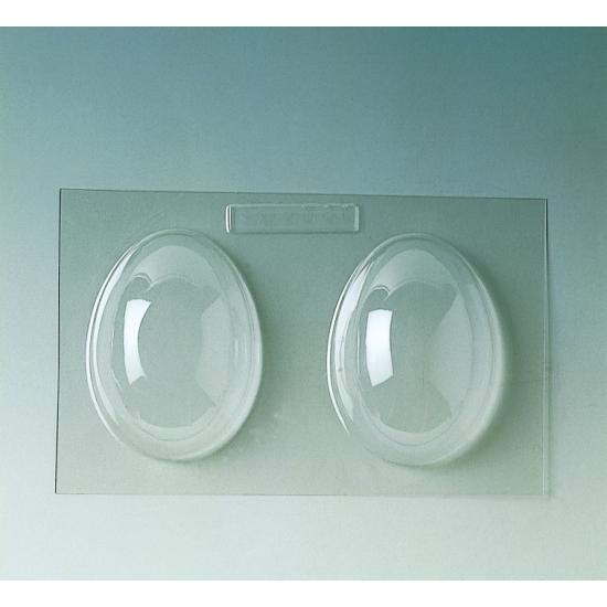 Plaque Pâques PM - 2 demi-coquilles unies