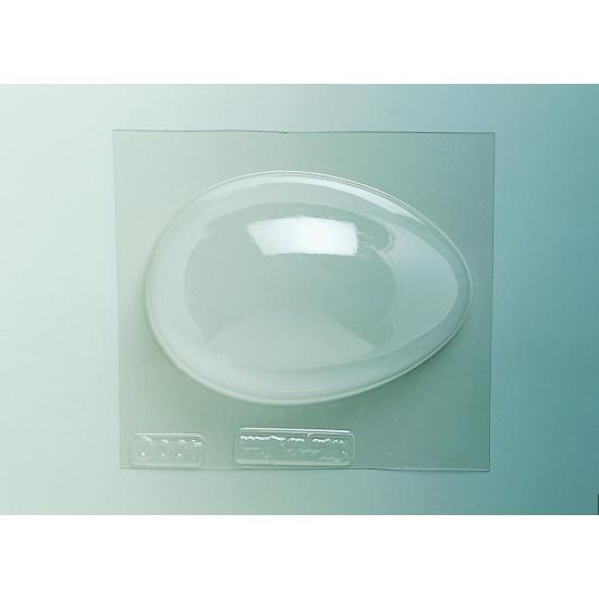 Plaque Pâques PM - 1 demi-coquille unie