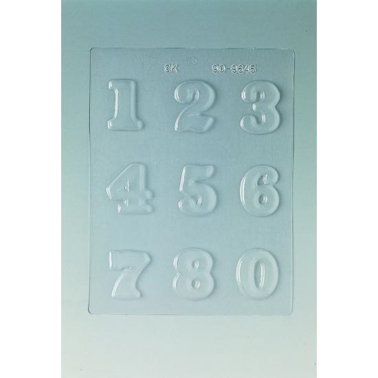 Plaque Pâques PM - 9 chiffres