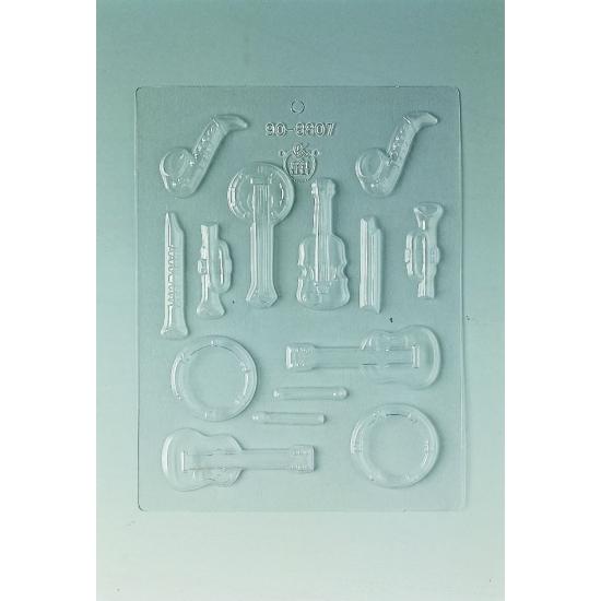 Plaque Divers - 14 instruments de musique