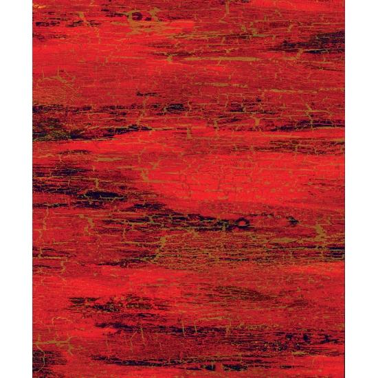 Papier cadeau rouge/or