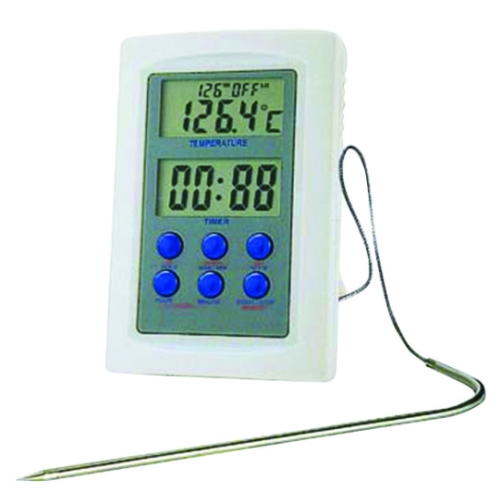 Thermomètre électronique pour four de -50°C à +300°C