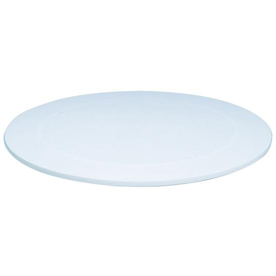 Guéridon plastique blanc