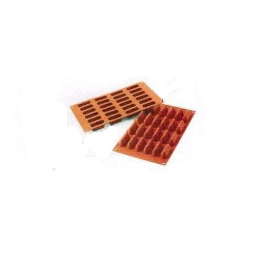 "SF125 - Moules flexibles ""Silicon Flex"": 24 mini lingots"