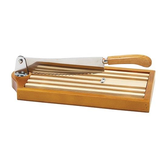 Couteau sur socle bois - 25 cm - grille amovible 39.5 x 19 cm