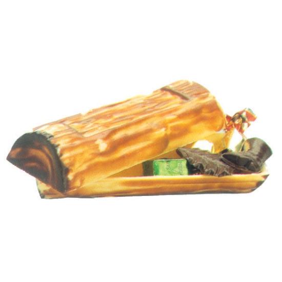 Moule polycarbonate pour chocolat 23 - Bûche de Noël