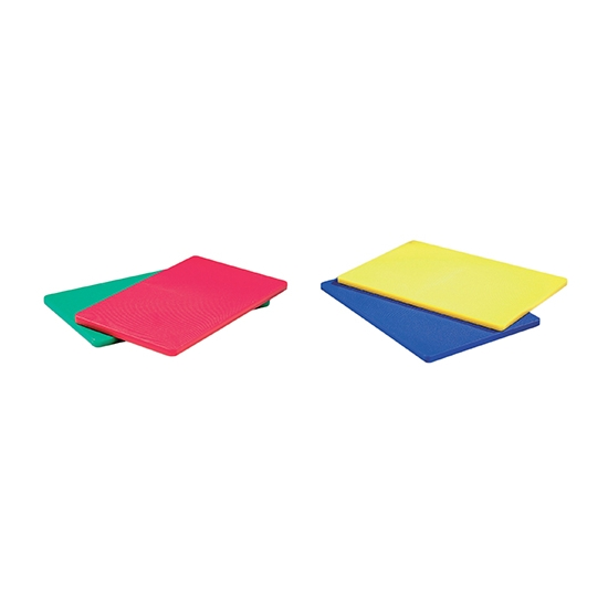 Planche à découper en polyéthylène couleur